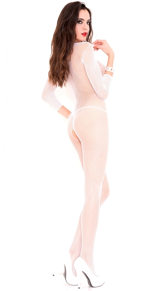 V Cut Bodystocking
