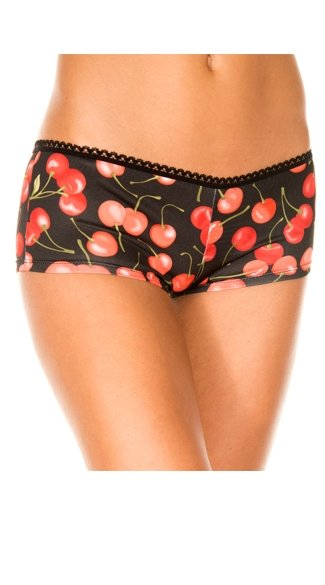 Cherry Boyshorts, Cherry Print Panties