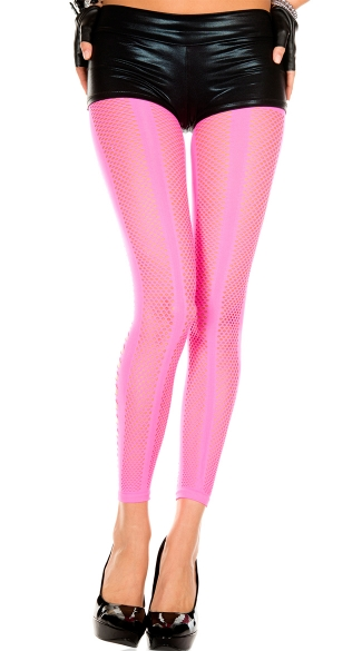 Diamond Net  and Cut Out Leggings