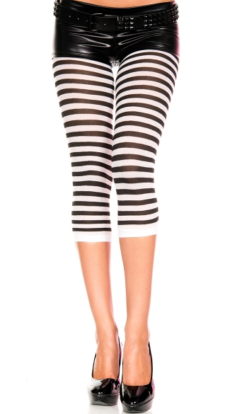 Duotone Striped Leggings