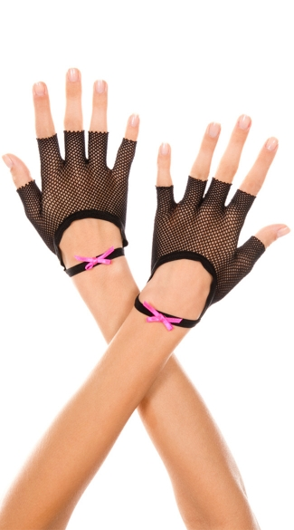 Oval Net Gloves, Fingerless Fishnet Gloves, Fish Net Gloves