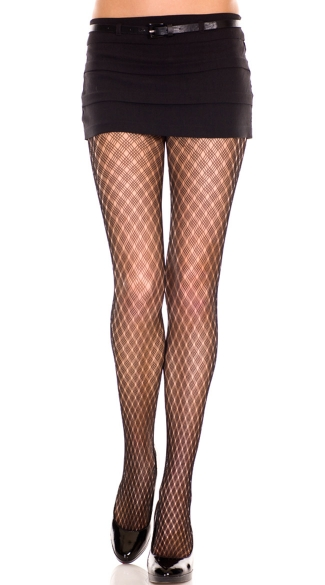Diamond Net Multi Weave Pantyhose