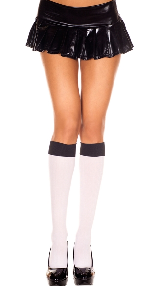 Two Tone Knee Highs