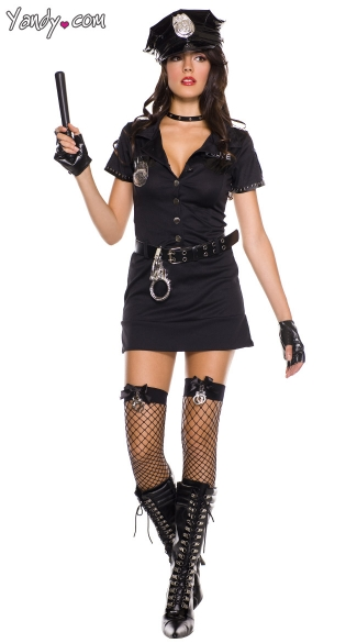 Sexy Dirty Cop Costume, Police Officer Costume, Police Costume