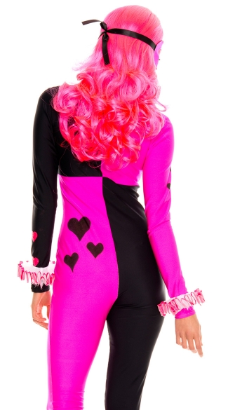 Heart Striking Harlequin Costume
