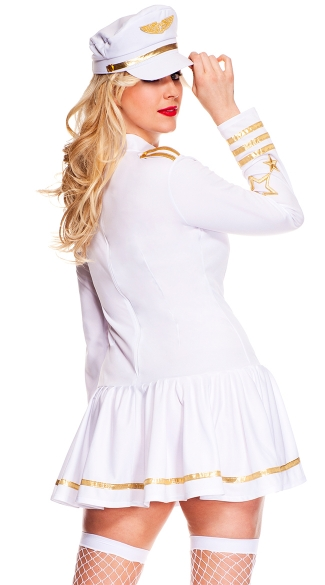 Plus Size First Class Pilot Costume