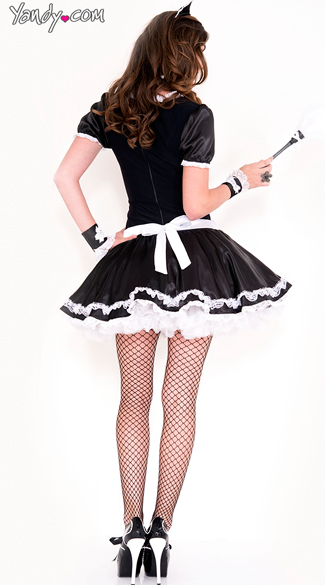 Lacy French Maid Costume