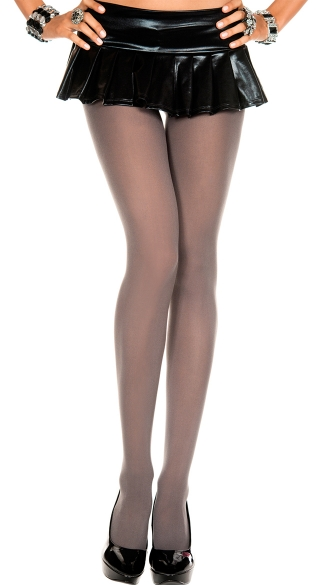 Opaque Spandex Tights