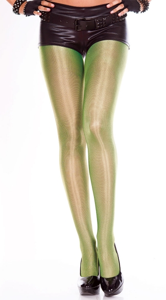 Shiny Metallic Pantyhose