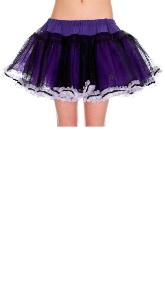 Purple Spider Web Petticoat