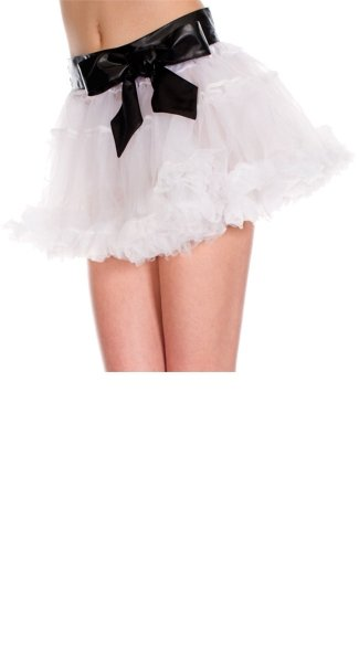 Short Petticoat with Black Bow