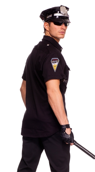 Mens Police Officer Costume