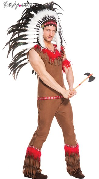 Men\'s Indian Chief Costume