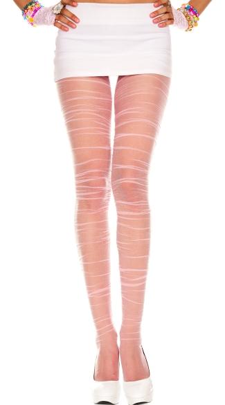 Ultra sheer pattern pantyhose