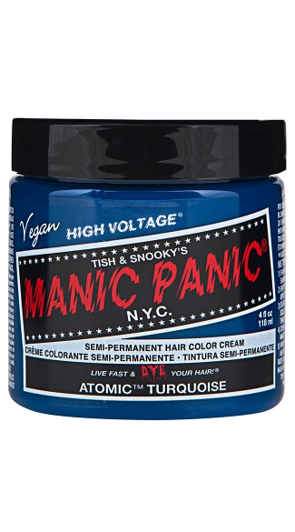 Atomic Turquoise Classic Creme, Turquoise Hair Color, Hair Dye