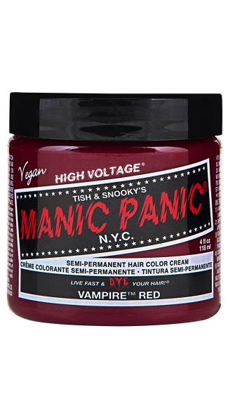 Vampire Red Classic Creme, Red Hair Color, Hair Dye