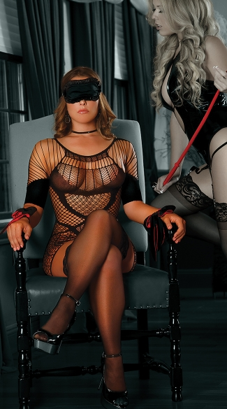 Plus Size Tempting Misstress Set