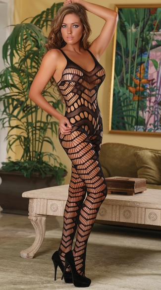 Seamless Pothole Bodystocking