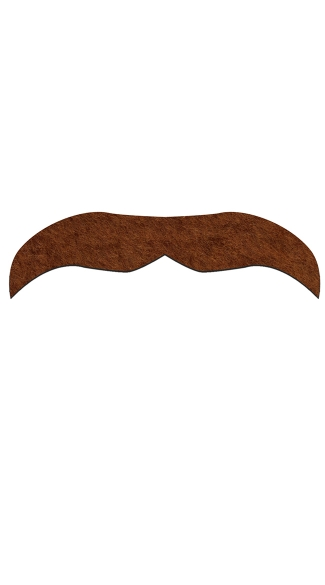 Brown Sancho Mustachio