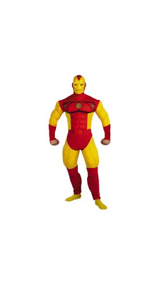 Adult Iron Man Muscle Halloween Costume - Iron Man Costume Armor Suit - Iron Man Movie Costume. Mens halloween costume.