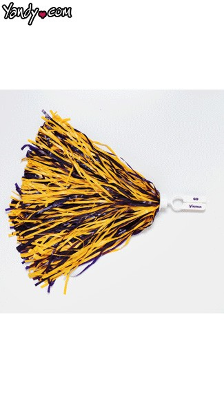 Minnesota Vikings Pom Poms, Vikings Cheerleaders Pom Poms