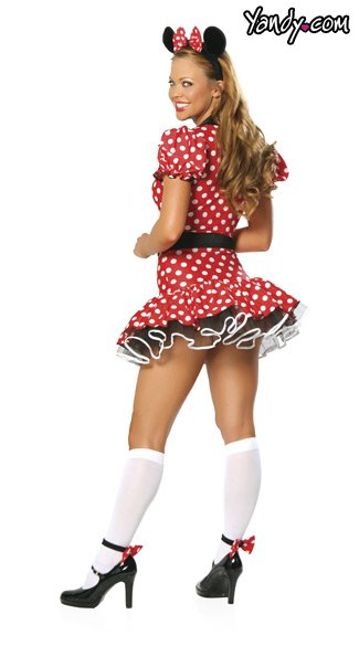 Adult Polka Dot Mouse Costume