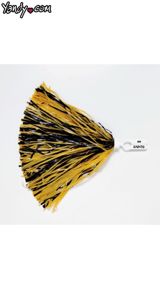 New Orleans Saints Pom Poms