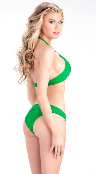 Padded Halter Swim Top