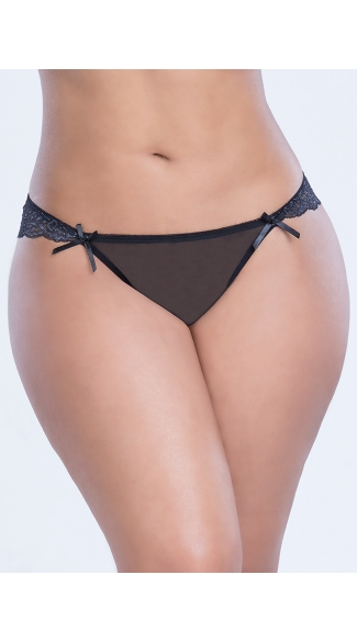 Plus Size Put A Bow On It Panty