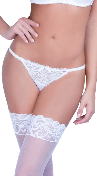 Lace Back Satin Tanga, Sexy Open Back Panty, Sexy Lace Panty