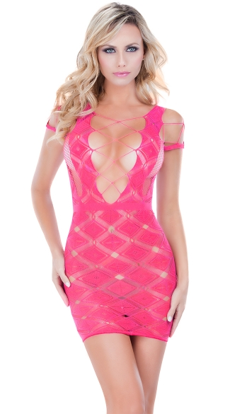 Stretching Stocking Chemise, Hosiery Dress, Seamless Dress