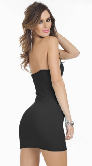 Basic Stretch Tube Dress