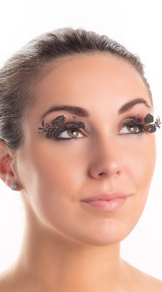 Laser Cut Rose Eyelashes