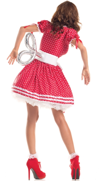 Plus Size Wind-Up Doll Costume