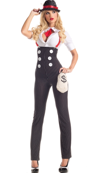 Drop Dead Heist Hottie Costume