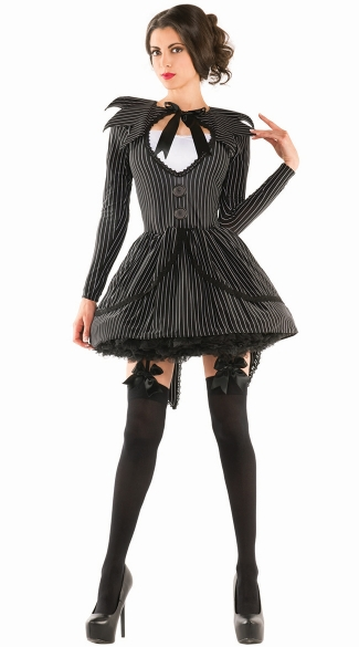 Bad Dreams Babe, Sexy Nightmare Costume, Women\'s Nightmare Halloween Costume
