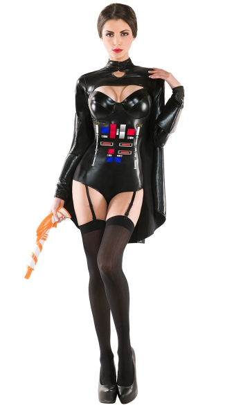 Ruthless Galactic Warrior Costume, Sexy Star Halloween Costumes, Sexy Space Costume
