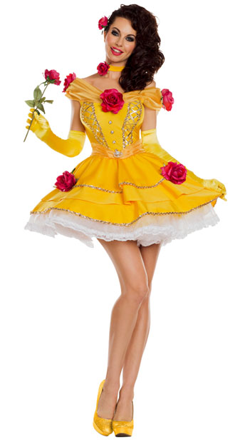 Belle Of The Ball Costume Yellow Princess Costume Yandy Com