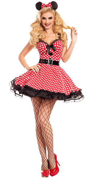 Missy Mouse Costume, sexy missy mouse costume, minnie costume, sexy minnie costume, mouse costume, sexy mouse costume