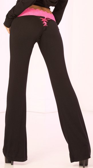 Lace Trim Lounge Pant