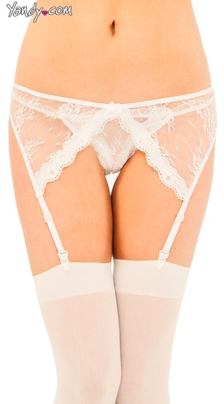 Plus Size Garter and Panty
