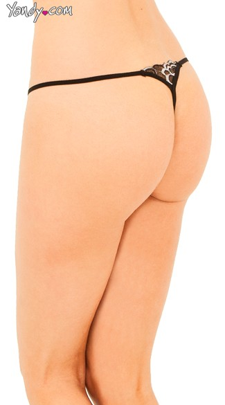 Stretch Mesh G String