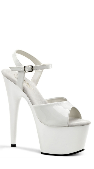 7 Inch Ankle Strap Stiletto