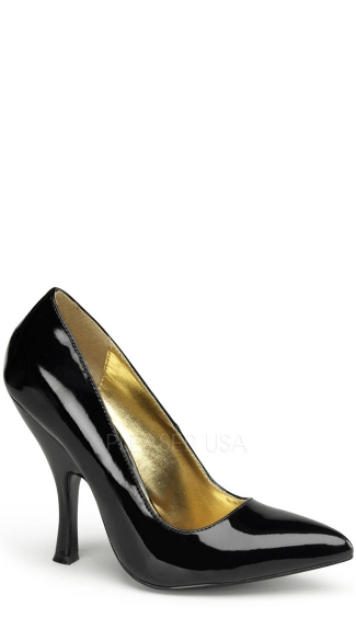 Curved Heel Classic Pump