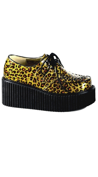 Rockabilly Cheetah Creeper Shoe
