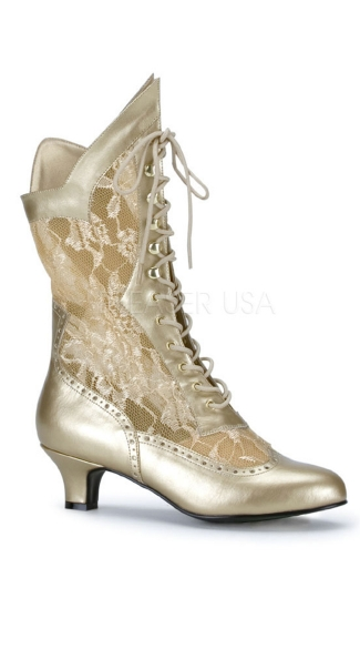 Lace Victorian Ankle Boot
