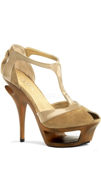 5 1/2 Inch Heel, 1 3/4 Inch Cut-out Pf