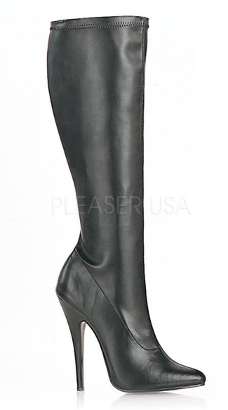 "6"" Plain Stretch Knee Boot"