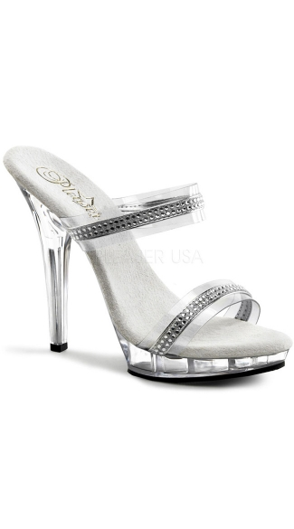 "5"" Stiletto Heel Two-band P/f Slide W/rs"