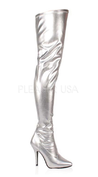 5 Inch Plain Stretch Thigh Bt